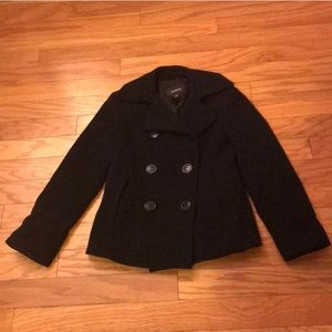 Express Premium Wool and Cashmere Blend Coat